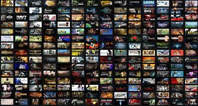 Steam account with random Games 29/300+