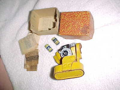 BEST!  Best HIT SUBMINIATURE - vintage camera -  MINT - ORIGINAL BOX and PAPERS