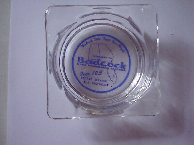 """""""Badcock Will Treat You Right."""" Home Furnishings. Advertising. Ashtray."""