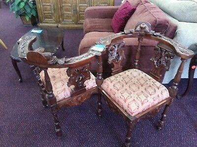 Chinese Courting Bench Antique- Grand Prairie, TX- Pickup Only