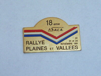 Pin's 18° RALLYE PLAINES ET VALLEES