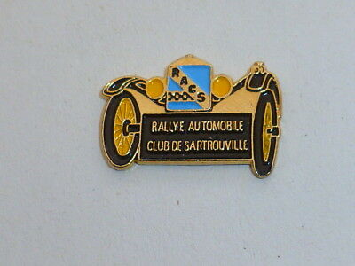 Pin's RALLYE AUTOMOBILE, CLUB DE SARTROUVILLE