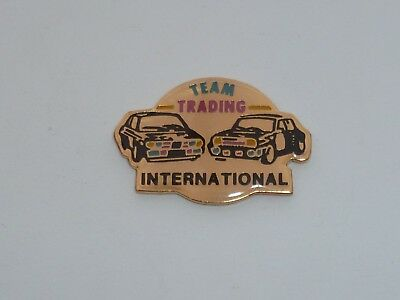 Pin's RALLYE, TEAM TRADING INTERNATIONAL  01
