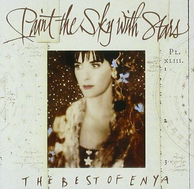 Enya Paint the Sky with Stars Best Of 16 Track CD Very Greatest Hits Collection