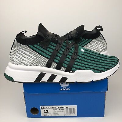 quality design 11b58 88f32 Adidas Eqt Support Mid Adv Pk Size 12 Mens Sub Green Black White Cq2998