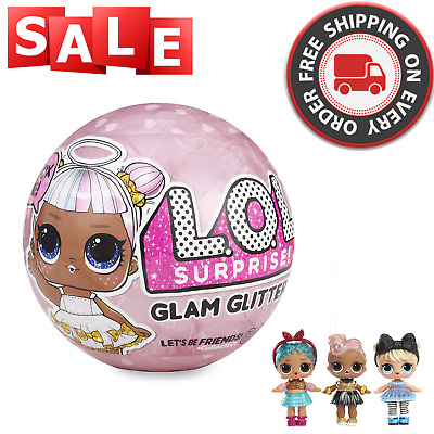 Glitter Glam, Series 4 - L.o.l. Surprise! - Big Sister Lol Doll Ball - Authentic