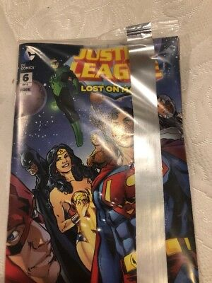 Justice League #6 General Mills Cereal Promo  DC Mini Comic Lost On Mars