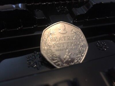 Rare & Valuable UK 50p Pence Coins Circulated Beatrix Potter