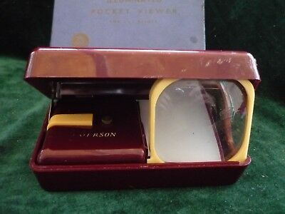 Paterson No 2,slide viewer, boxed vintage 1950s-1960s, early Paterson blue box