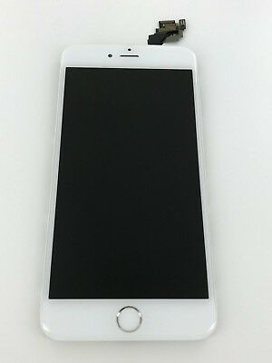 "Original OEM iPhone 6 Plus White LCD Screen Full Assembly Replacement ""Grade A"""