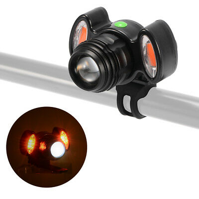 Zoomable LED Bike Headlight USB Rechargeable Night Cycling Front Light CS601