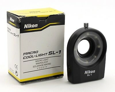 Flash Nikon Macro Cool-Light Sl-1 (Como Nuevo)