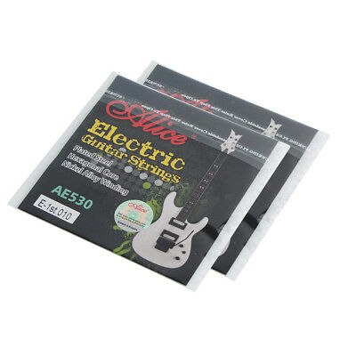 2PCS Alice Electric Guitar E-1st Strings Single Coated Steel String Light .010''