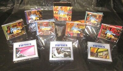 19 CD Set TIME LIFE Pop Memories Of The 60s & UNFORGETTABLE 50s Oldies Goodies