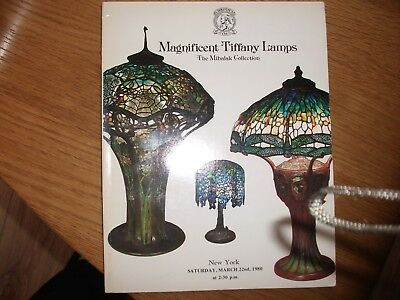 christies tiffany glass lamps auction catalogue