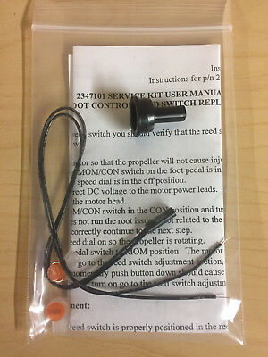 Minn Kota magnetic reed switch with clip