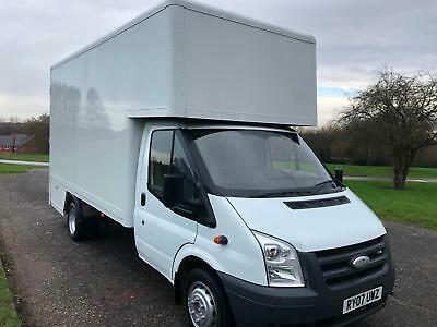 Ford Transit 350 3.5T 140ps 14ft Dropwell Luton No Vat to Pay, Nice Condition