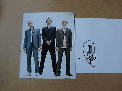 Matt Willis 'Busted' signed - COA