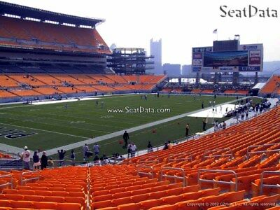 (2) Steelers vs Ravens tickets Lower Level Section 128!! (Hard Tickets)
