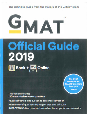 GMAT Official Guide 2019 [PDF DOWNLOAD]