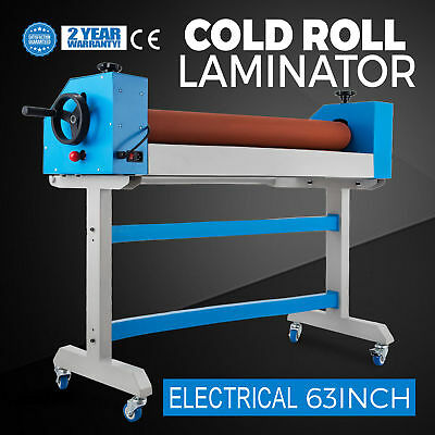 "Large Cold Electrical Laminator Machine 63""  1600mm Posters Lamination BFT-1600E"