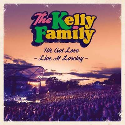 THE KELLY FAMILY We Got Love - Live At LORELEY 2 CD NEU & OVP 09.11. 2018