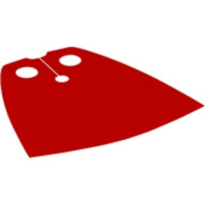 LEGO® Accessories: Red Cape (spongy version) - For LEGO figure