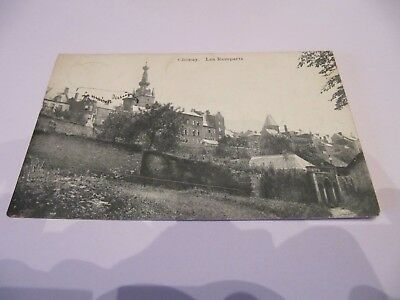 Ancienne  Carte  Postale  Chimay - Les Remparts   Occasion !