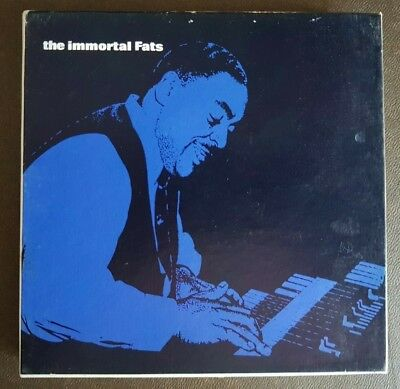 RARE The Immortal Fats Waller Reel To Reel 3 3/4 Twin Sided Tape VGC