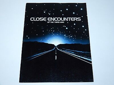 Close Encounters Of The Third Kind 1977 Cinema Teaser Promo Booklet Colombia Pic