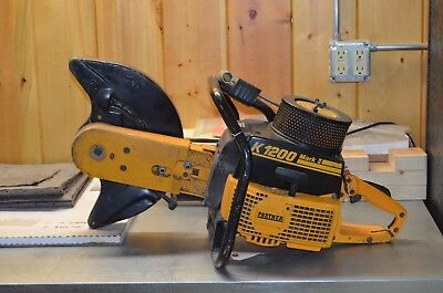 "Partner Industries, K 1200 Mark Ii 14"" Concrete / Cut-Off / Demolition Saw"