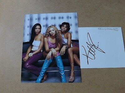 Kelly Rowland 'Destiny's Child' signed - COA