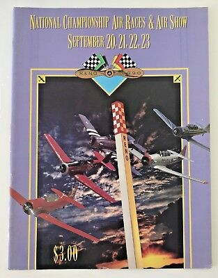 1990 Reno National Championship Air Races and Air Show Program