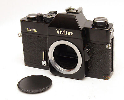 Vivitar 220/SL SLR Film Camera For M42 Screwmount! Good Condition!