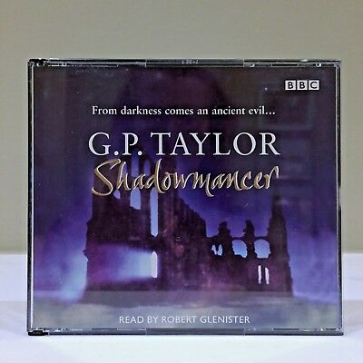 SHADOWMANCER by GP Taylor - BBC audiobooks - CD book