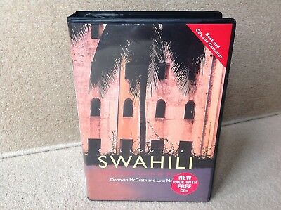 Colloquial Swahili Cassette & 2 CD Beginners Language Course (Learn, Teach)