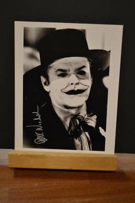 Autograph Original - Photo Dedicacee - Jack Nicholson - 20 X 25 - Joker Batman