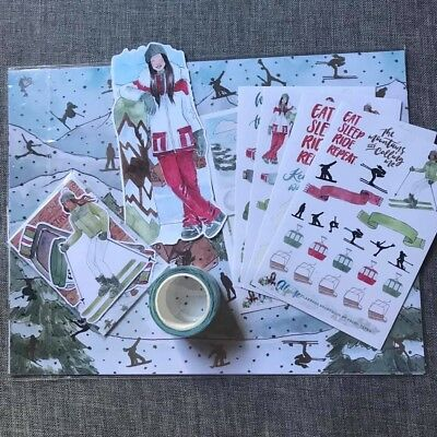 """Partial Planners Anonymous """"Alpine"""" Kit (some items new, some used)"""