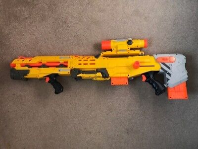 Nerf N-Strike Longshot CS-6 with bullets - Excellent Condition
