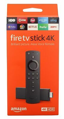 Amazon Fire TV Stick 4K with Alexa Voice Remote, streaming media player NEW