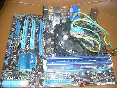 Great working ASUS Motherboard PBH61-M LE With I7 CPU and 8GB ram