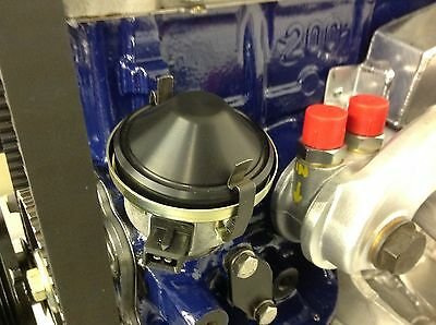 Cosworth Distributor Blanking Cap  Wasted Spark Black Anodised