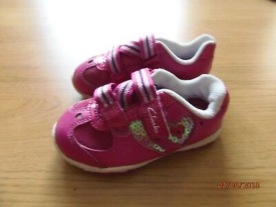 Clarks first shoes size 5G