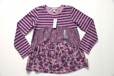 New with Tags Naartjie Kids Girl's 8 years Flower Shirt Tunic Top Boutique NWT