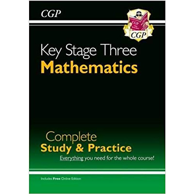 New KS3 Maths Complete Study & Practice (with Online Edition) (CGP KS3 Ma - BOOK