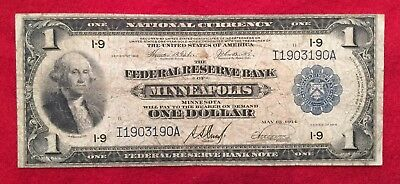 1918 $1 Minneapolis Federal Reserve Note