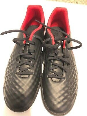 new styles 02163 eca62 Nike Men s MagistaX Ola II IC Soccer Shoes Size 10 Black Red 844409-061 NEW
