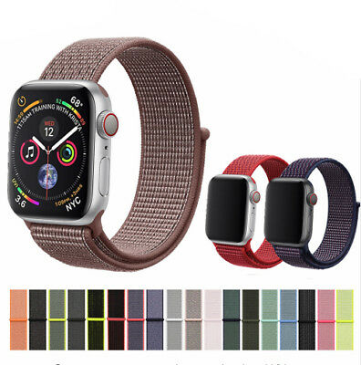 passend für Apple Watch Nylon Armband Sport Loop  Watch Series 1 / 2 / 3 / 4