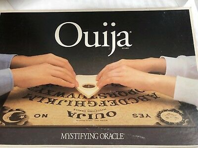 Parker Brothers OUIJA Board Mystifying Oracle William Fuld 1992 Game