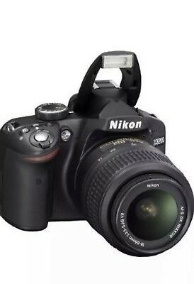 Nikon D3200 DSLR Camera With Twin Lens Kit